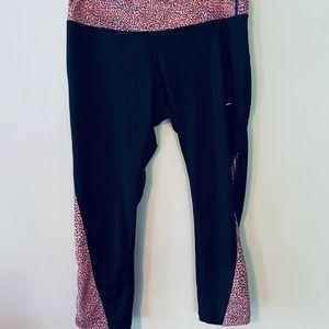 Nike Running Dri-Fit Crop Leggings w/ pocket sz L